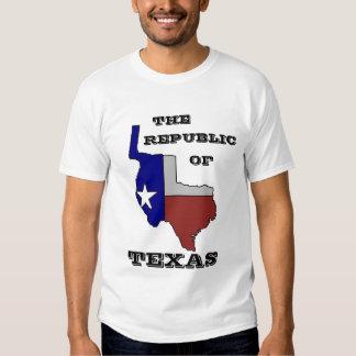 República de Tejas - modificado para requisitos Camisas