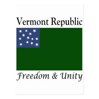República de Vermont Postales