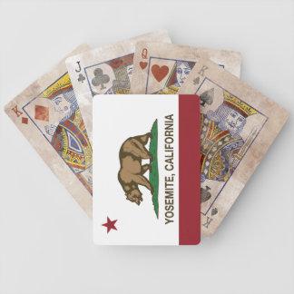 República de Yosemite California Baraja De Cartas