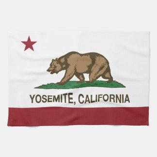 República de Yosemite California Toallas De Cocina