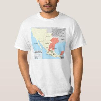 República del centralista del mapa territorial de playera