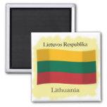 República del imán de la bandera de Lituania