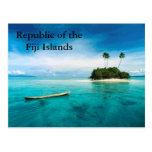 República del postard de las Islas Fiji Postal