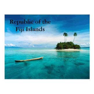 República del postard de las Islas Fiji Postales