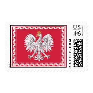 República del sello de Polonia