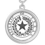 República del sello de Tejas Pendiente