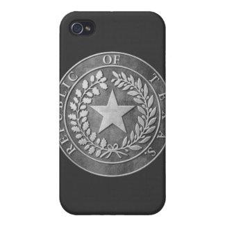 República del sello de Tejas iPhone 4/4S Fundas