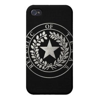 República del sello de Tejas iPhone 4 Cárcasas