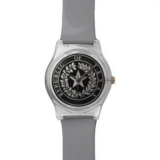 República del sello de Tejas Reloj
