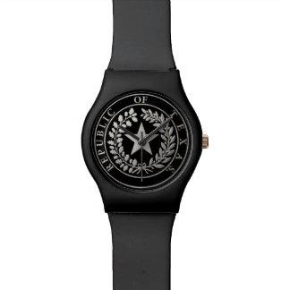 República del sello de Tejas Reloj De Mano