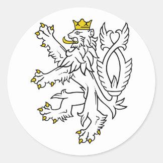 República del theech del león, Checa Etiqueta