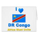 República Democrática del Congo Tarjeta