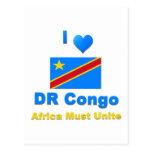 República Democrática del Congo Tarjetas Postales