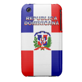Republica Dominicana iPhone 3 Case