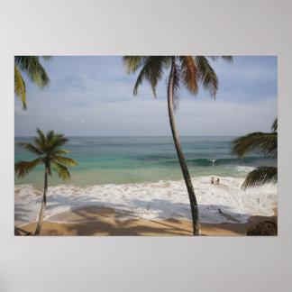 República Dominicana, costa del norte, Abreu, Play Póster