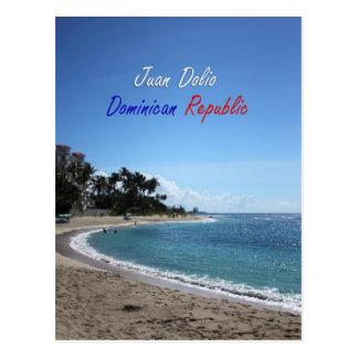República Dominicana de Juan Dolio Tarjeta Postal