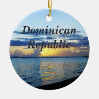 República Dominicana Adorno Redondo De Cerámica