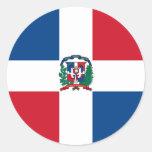 República Dominicana Etiquetas Redondas
