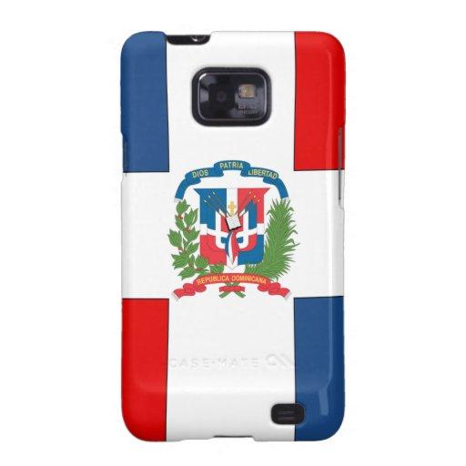 República Dominicana Galaxy SII Fundas