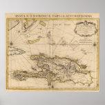 República Dominicana, Haití, las Antillas Póster