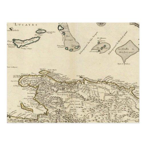 República Dominicana, Haití, las Antillas Tarjeta Postal