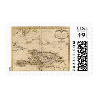 República Dominicana, Haití, las Antillas Timbre Postal