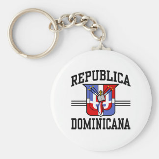 Republica Dominicana Keychain