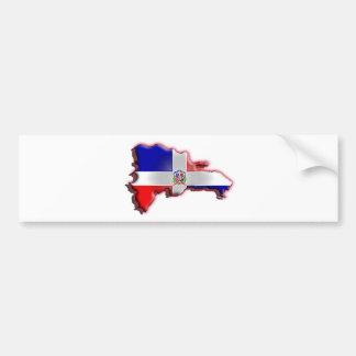 República Dominicana Pegatina Para Auto