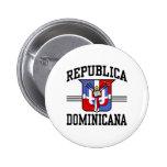 Republica Dominicana Pin Redondo 5 Cm