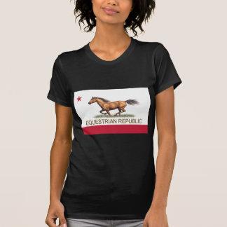 República ecuestre camisetas