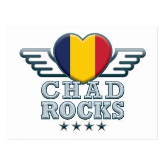 República eo Tchad oscila v2 Postal