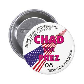 República eo Tchad para el botón de Prez