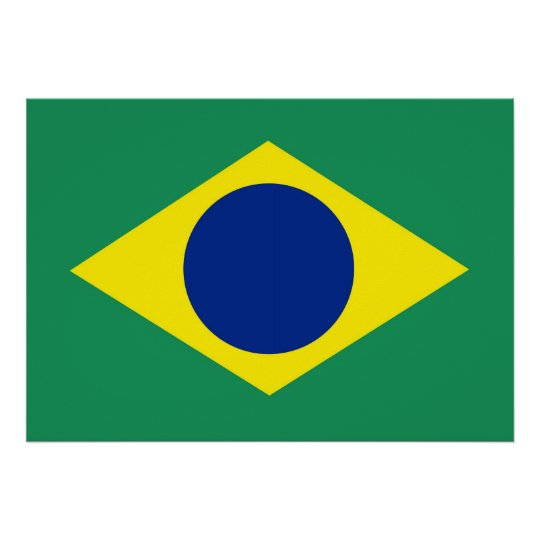 República Federativa do Brasil or The Federative R Poster