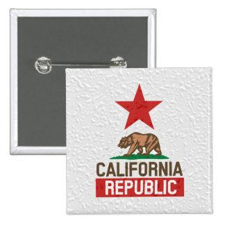 República mojada de California Pins