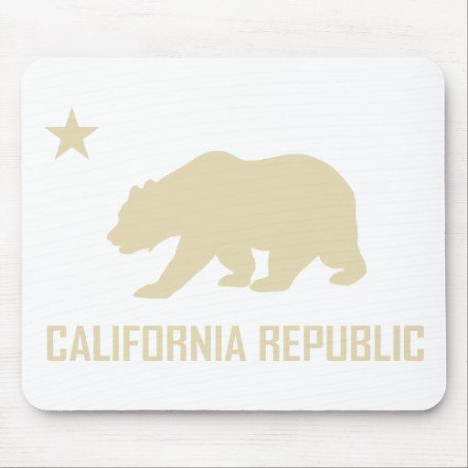 República Mousepad de California Alfombrilla De Ratón