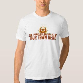República popular de… Camiseta adaptable Playeras