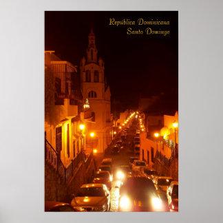 República Santo Domingo Dominicana Poster