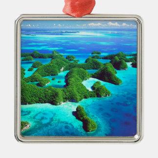 República tropical Palau de la isla Ornamentos De Reyes Magos