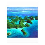 República tropical Palau de la isla Tarjeta Postal