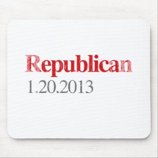 REPUBLICAN 1-20-2013 Faded.png Mouse Pad