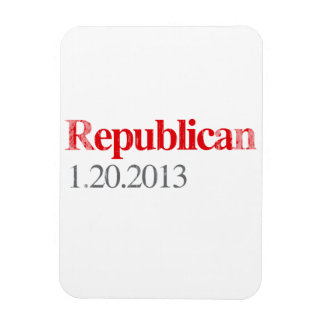 REPUBLICAN 1-20-2013 Faded.png Rectangular Photo Magnet