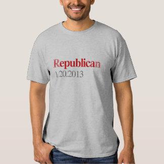 REPUBLICAN 1-20-2013 Faded.png T Shirts