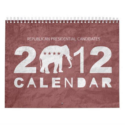 Republican 2012 Calendar