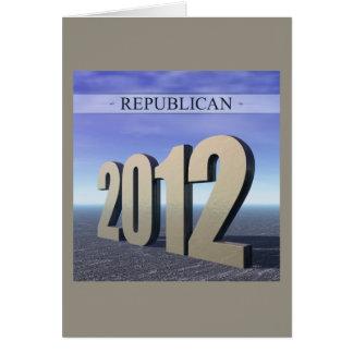 Republican 2012 card