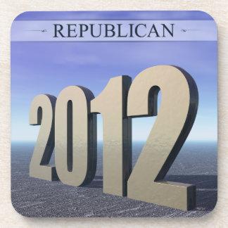 Republican 2012 drink coaster