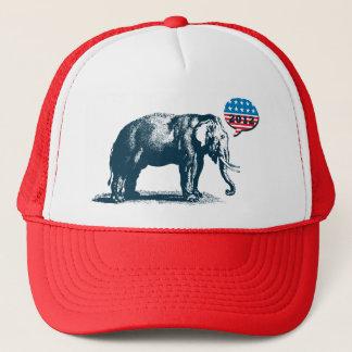 Republican 2012 GOP Elephant Campaign Trucker Cap