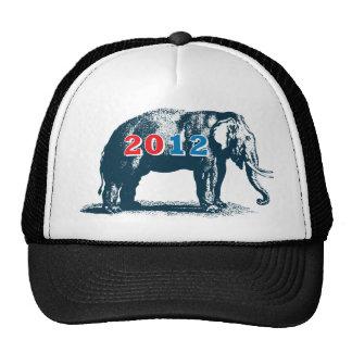 Republican 2012 GOP Elephant Election Trucker Hat