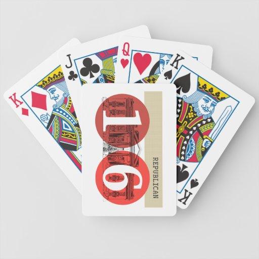 Republican 2016 bicycle card deck
