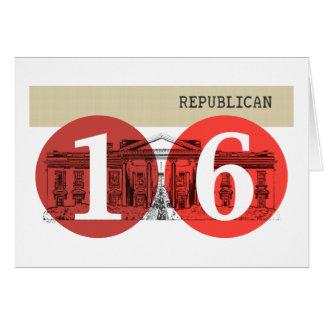 Republican 2016 greeting card