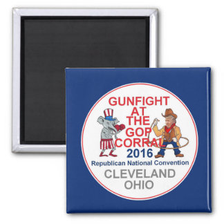 Republican 2016 Convention 2 Inch Square Magnet